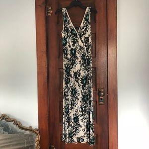 H&M floral maxi dress